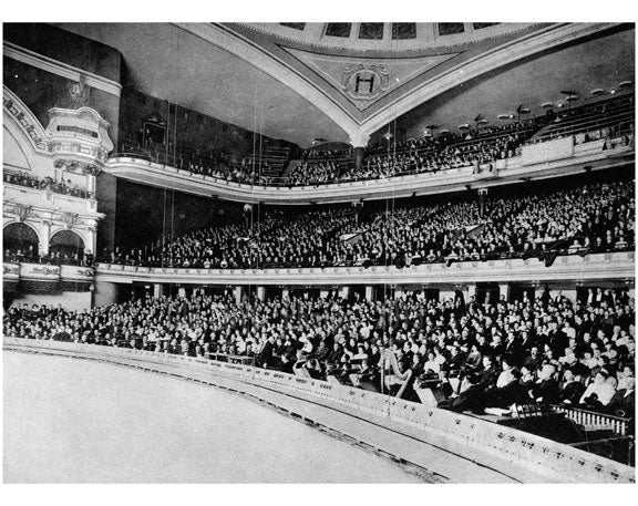 Interior Hippodrome - Lincoln Center U.W.S. NYC Old Vintage Photos and Images