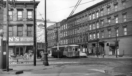 Intersection of Nostrand, Flushing and Lee Avenues, 1951 Old Vintage Photos and Images