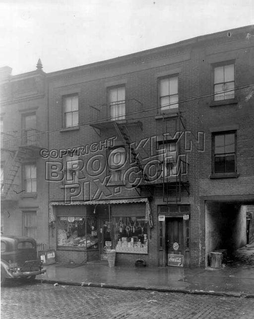 Italian grocery, 299 Hudson Avenue, c.1940 Old Vintage Photos and Images