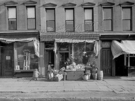 Italian shops, 179 Fourth Avenue, 1920 Old Vintage Photos and Images
