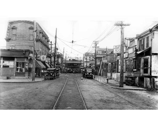 Jamaica Ave & 160th Street - 1931 - Jamaica - Queens NY Old Vintage Photos and Images