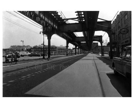 Jamaica Ave E. to Van Wyck 1950  - Jamaica  - Queens NY Old Vintage Photos and Images