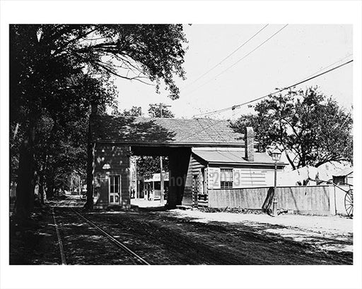 Jamaica Ave - Old Toll Gate Old Vintage Photos and Images