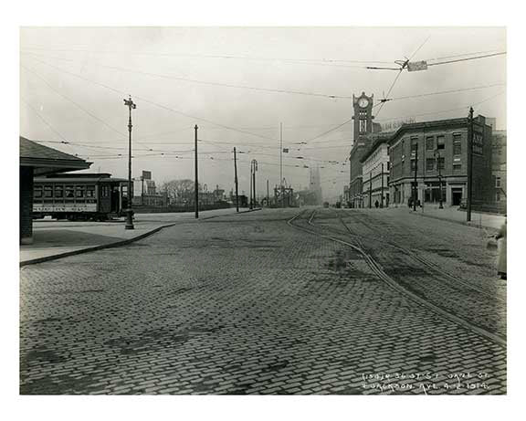 Jane Street & Jackson Ave  - Long island City  - Queens, NY Old Vintage Photos and Images