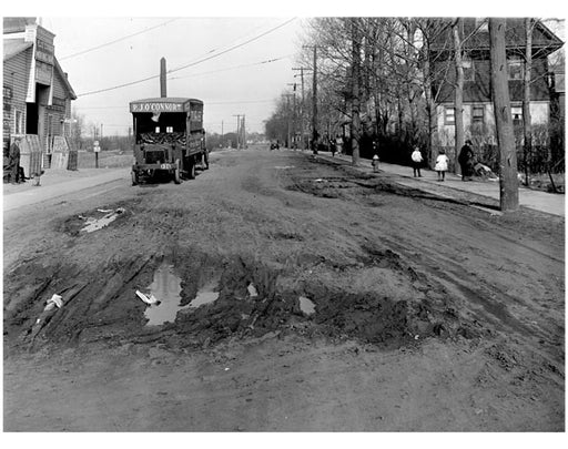 Jerome Ave & East 18th Street - 1921 Old Vintage Photos and Images
