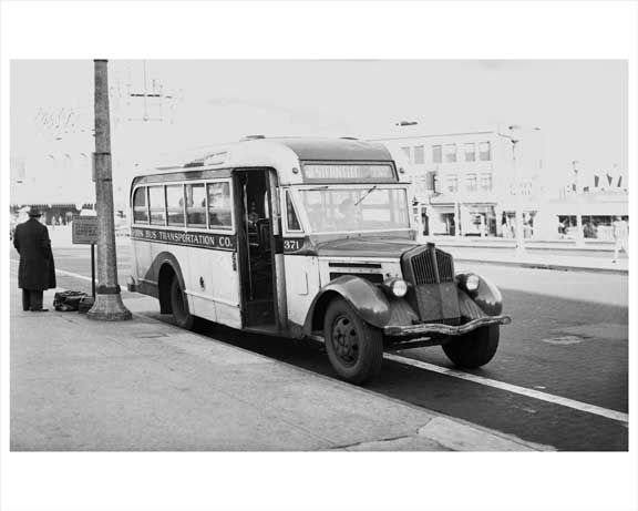 Jersey City Bus 1948 NJ D Old Vintage Photos and Images