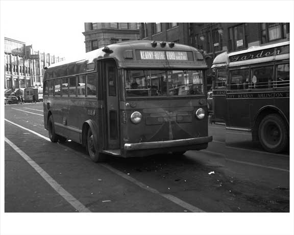 Jersey City Bus 1948 NJ A Old Vintage Photos and Images