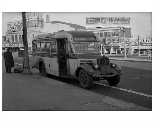 Jersey City Bus -Stanley Theater 1948 NJ A Old Vintage Photos and Images