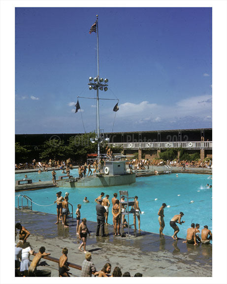 Jones Beach  Pool 1970's Old Vintage Photos and Images