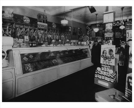 Kensington Brooklyn Butcher shop 1930 Old Vintage Photos and Images