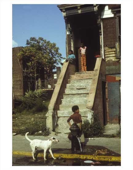Kids on Alabama Ave East New York Brooklyn NY Old Vintage Photos and Images