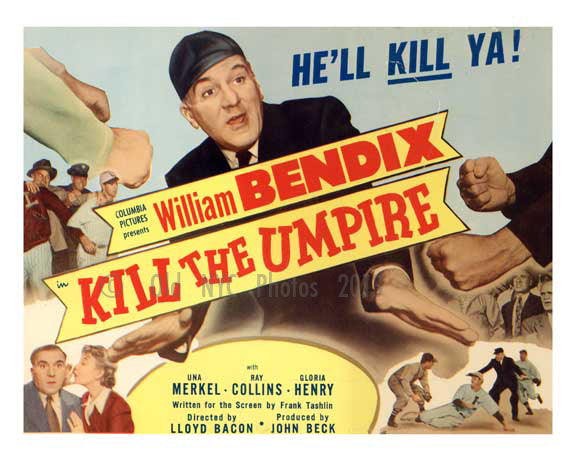 Kill the Umpire - all cast - Vintage Posters Old Vintage Photos and Images