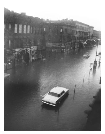 Knickerbocker Ave Flooded Gravesend Brooklyn NY Old Vintage Photos and Images