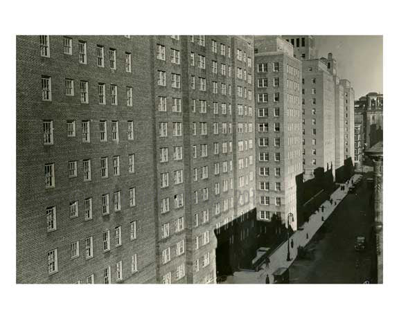 Knickerbocker City 1934 - Midtown West -  Manhattan NYC A Old Vintage Photos and Images
