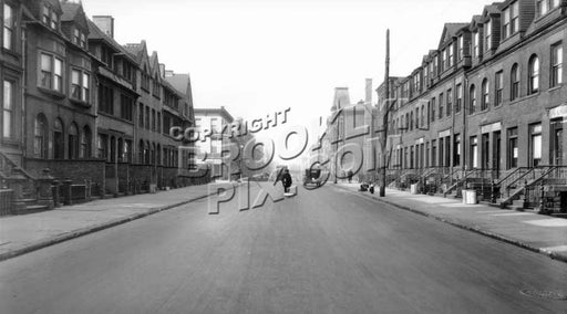 Lafayette Avenue west to Classon Avenue, 1931 Old Vintage Photos and Images