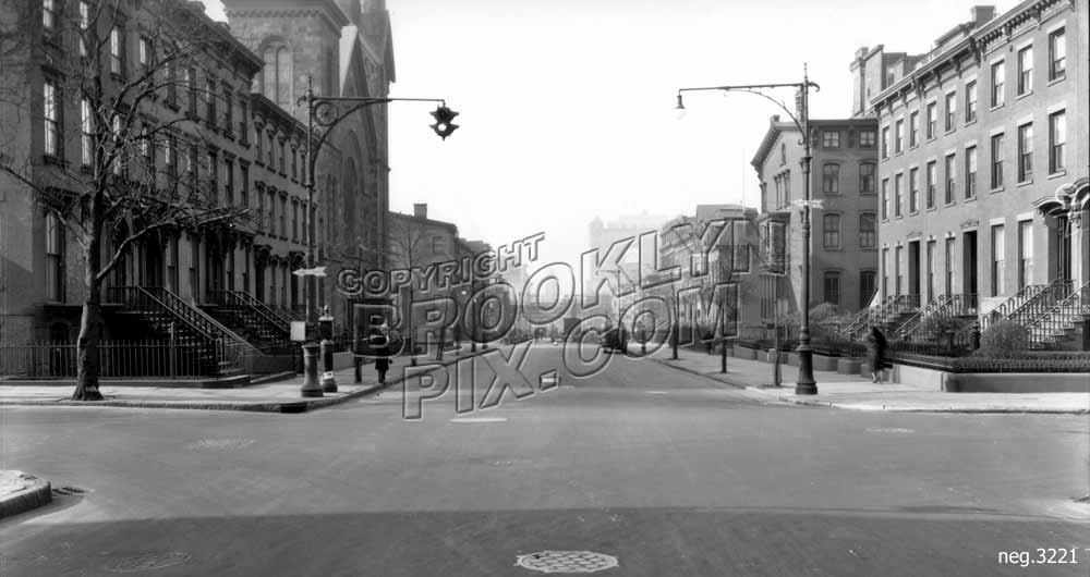 Lafayette Avenue west to Cumberland Street, 1931 Old Vintage Photos and Images