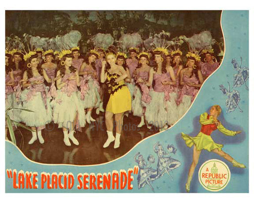 Lake Placid Serende Poster - A Republic Picture - Vintage Posters Old Vintage Photos and Images
