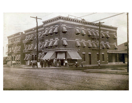 Large Corner Cash Grocer Flatbush Brooklyn NY Old Vintage Photos and Images