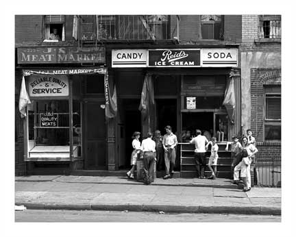 Lee Avenue Reid's Ice Cream Old Vintage Photos and Images