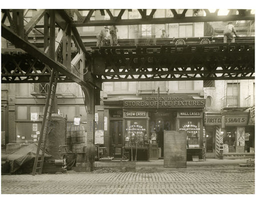 """Levin Bros. Store & Office Fixtures"" - Bowery - between Grand & Hester Street 1915 Old Vintage Photos and Images"