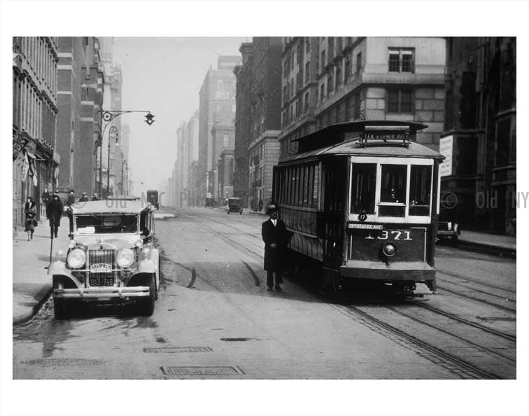 Lexington & 65th Street Trolley Old Vintage Photos and Images