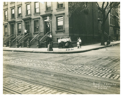 Lexington Ave & 118th St Old Vintage Photos and Images