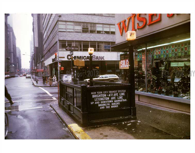 Lexington Ave 1970's Old Vintage Photos and Images