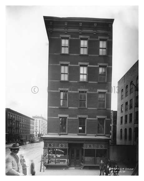 Lexington Avenue & 111th Street 1911 - Upper East Side, Manhattan - NYC L5 Old Vintage Photos and Images