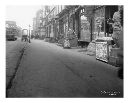 Lexington Avenue & 123rd Street 1911 - Upper East Side, Manhattan - NYC L7 Old Vintage Photos and Images