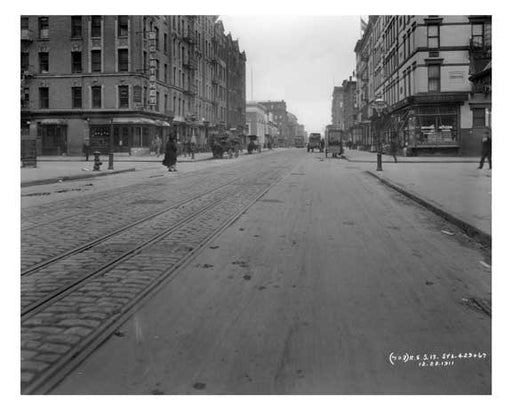 Lexington Avenue & 123rd Street 1911 - Upper East Side, Manhattan - NYC L8 Old Vintage Photos and Images