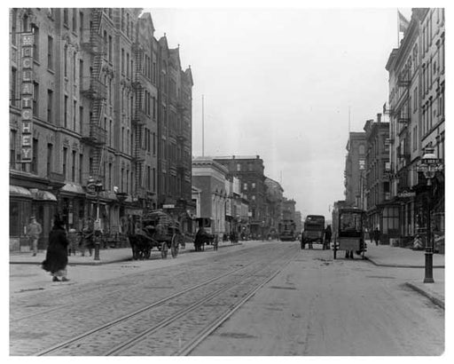 Lexington Avenue & 123rd Street 1911 - Upper East Side, Manhattan - NYC L10 Old Vintage Photos and Images