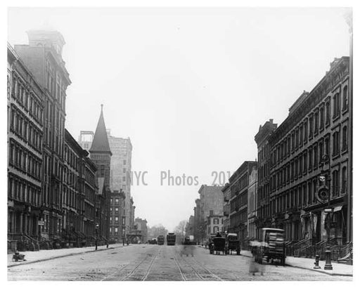 Lexington Avenue 1911 - Upper East Side, Manhattan - NYC H1 Old Vintage Photos and Images