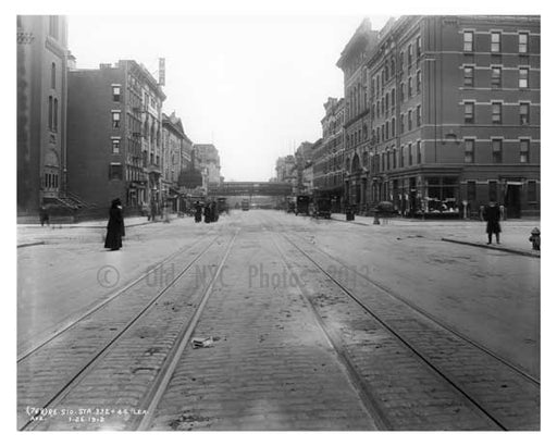 Lexington Avenue 1911 - Upper East Side, Manhattan - NYC H2 Old Vintage Photos and Images