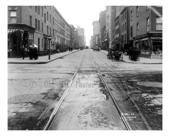 Lexington Avenue & 29th Street 1911 - Midtown, Manhattan - NYC A Old Vintage Photos and Images