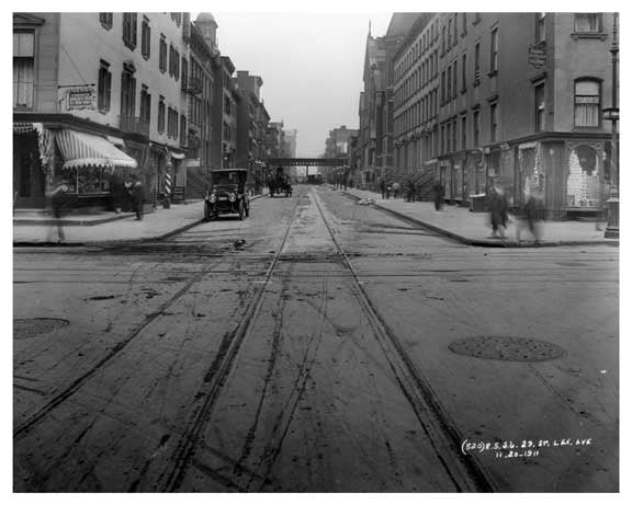 Lexington Avenue & 29th Street 1911 - Midtown, Manhattan - NYC C Old Vintage Photos and Images