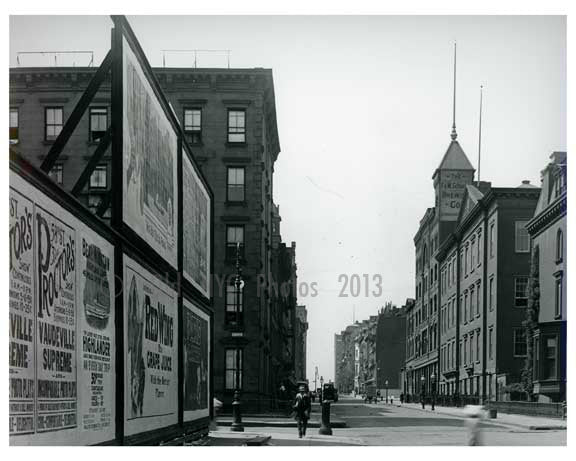 Lexington Avenue & 51st Street - Midtown -  Manhattan NYC 1914 A Old Vintage Photos and Images