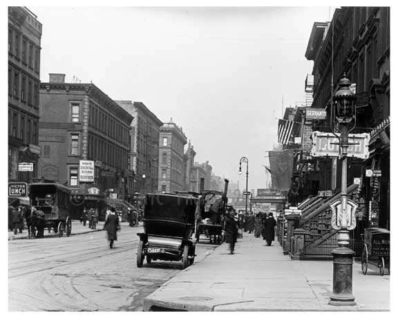 Lexington Avenue & 58th Street 1912 - Midtown Manhattan NYC C Old Vintage Photos and Images