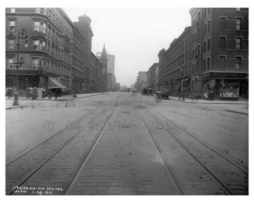 Lexington Avenue & 86th Street 1911 - Upper East Side, Manhattan - NYC Old Vintage Photos and Images