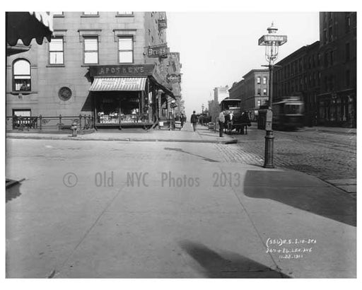 Lexington Avenue & 86th Street 1911 - Upper East Side, Manhattan - NYC H5 Old Vintage Photos and Images