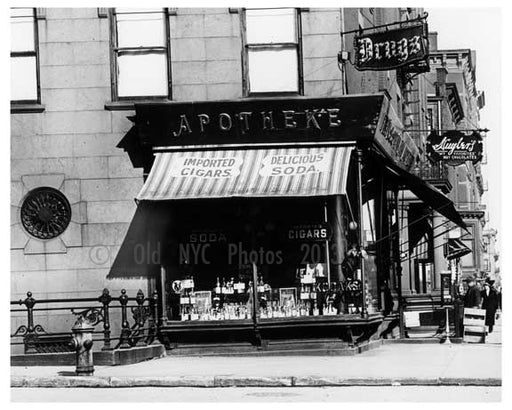 Lexington Avenue & 86th Street 1911 - Upper East Side, Manhattan - NYC H6 Old Vintage Photos and Images