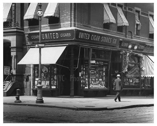 Lexington Avenue 86th Street 1912 - Upper East Side Manhattan NYC XX Old Vintage Photos and Images