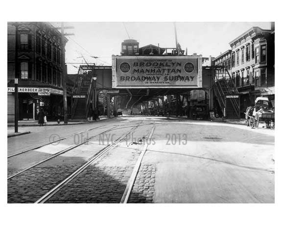 Liberty Ave - Richmond Hill - 1938 Queens NY Old Vintage Photos and Images