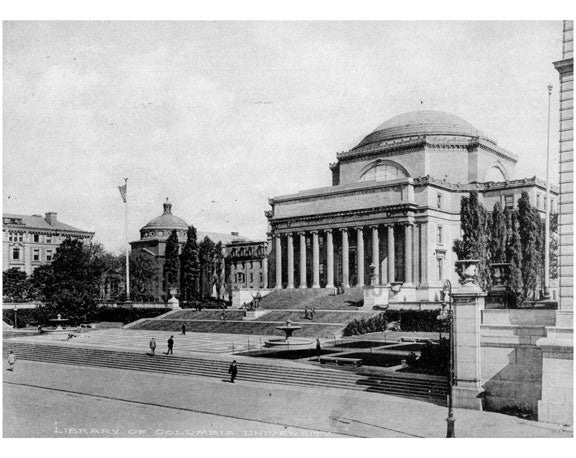 Library of Columbia University Old Vintage Photos and Images