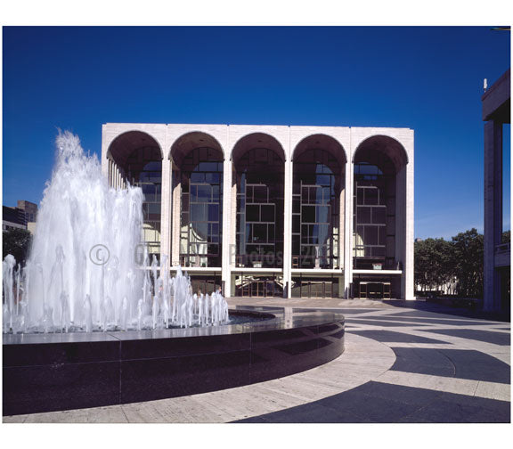 Lincoln Center for the Performing Arts Old Vintage Photos and Images
