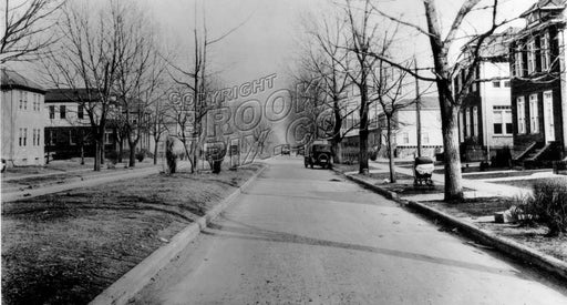 Linden Boulevard looking east from Albany Avenue, 1924 Old Vintage Photos and Images
