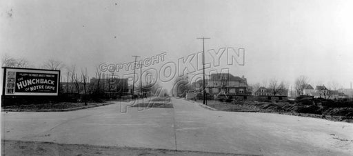Linden Boulevard looking west at Kings Highway, 1924 Old Vintage Photos and Images