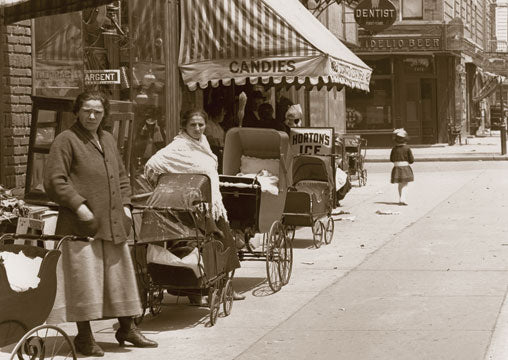 Livonia Av. East to Powell Srt. Brownsville Brooklyn 1917 Old Vintage Photos and Images