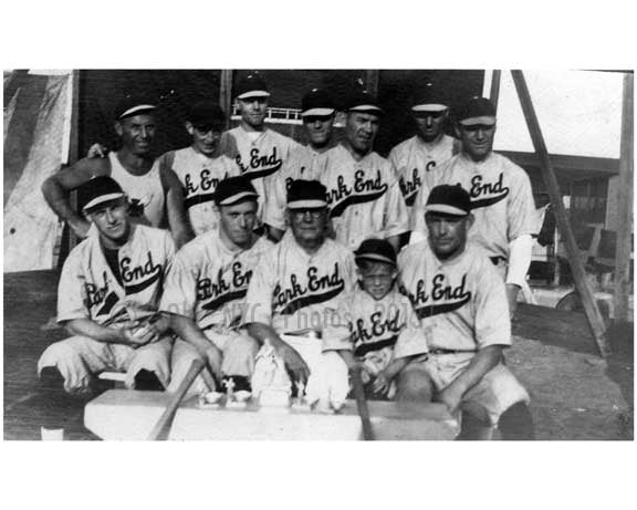 local baseball team 1930's
