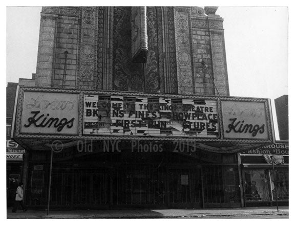 Loews Kings in Ruin Old Vintage Photos and Images