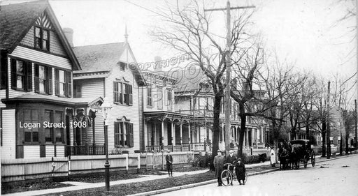 Logan Street, 1908 Cypress Hills Brooklyn  Old Vintage Photos and Images